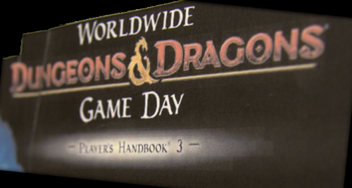 Worldwide Dungeons & Dragons Game Day Player's Handbook 3